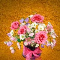 Розы и душистый горошек :: Ольга Бекетова