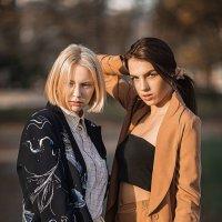 Настя и Вика :: Владимир Васильев