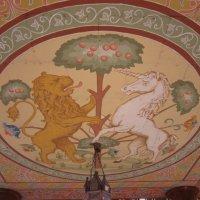 Бьются лев с единорогом :: Дмитрий Никитин