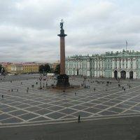 Вид на Дворцовую площадь из окна Главного штаба :: Елена Павлова (Смолова)
