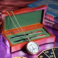 Натюрморт с часами и картами :: Ольга Бекетова