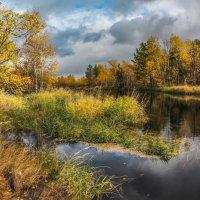 Красавица-осень вдоль речки гуляла. Вдоль речки гуляла - тайгу наряжала...) :: Татьяна .