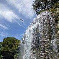 Водопад в парке Ниццы :: Лидия Бусурина