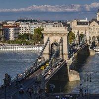 Мост Сечени. Будапешт. :: Владимир Новиков