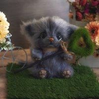 Котик-игрушка амигуруми(связана ручками) :: Анжела Пасечник