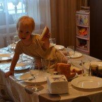 Хлеб ,всему голова... :: Андрей Хлопонин