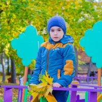 Осенний Детский Фотопортрет :: Руслан Васьков