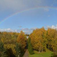 Великие Луки, радуга, 5 октября... :: Владимир Павлов