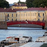 Красный мост на Мойке (Санкт-Петербург) :: Ольга И
