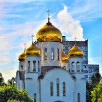Храм Пресвятой Богородицы в Новогиреево :: Oleg S