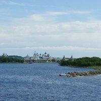Вид на Соловецкий монастырь :: Елена Павлова (Смолова)
