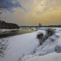 Зима на Десне :: Евгений