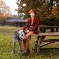 Мальчик с собакой :: Ирина Kачевская