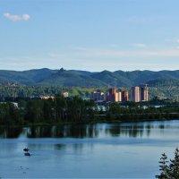 Таёжный город в горах над Енисеем :: Василий