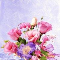 Розовый букет :: Ольга Бекетова