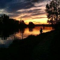 Найди рыбака на фото) :: Ольга Богачёва