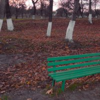 Зелёная скамья :: Владимир Безгрешнов
