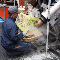 Токио, осенняя ярмарка Nihonbashi Ebisu-ko Bettara Ichi Market :: Swetlana V