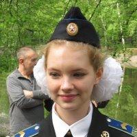 Девушка из Петровского корпуса :: Дмитрий Никитин