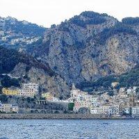 Вид на Амальфи с моря :: Иван Литвинов