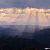 закат на плато Канжол :: Александр Богатырёв