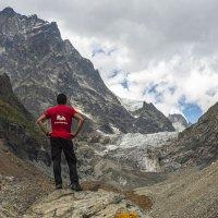 Ледник Чалаади. Сванетия :: Лариса Батурова