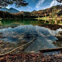 Горное озеро Алатзее /Alatsee/ :: Bo Nik