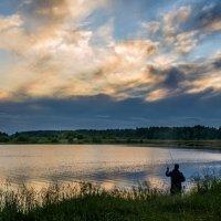 Вечерняя рыбалка :: Елена Чудиновских