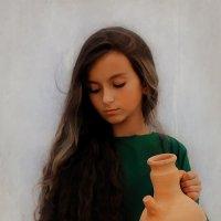 Девочка с кувшином :: Malika Normuradova