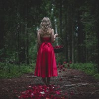 Магия красного :: Саша+Полина Раковы