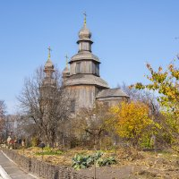 Григорьевская церковь в г.Седнев. :: Александр Крупский