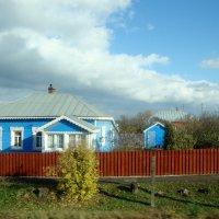 голубой домик, село Липицы... :: Галина Флора