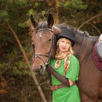 лошади и люди...... :: Юрий Никульников