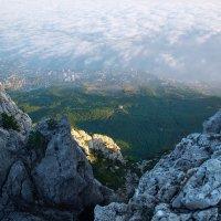 Вид с горы на город :: Солнечная Лисичка =Дашка Скугарева