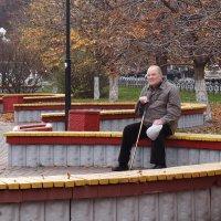 Старик и Осень... :: Alexander Borisovsky