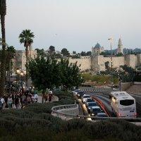 Первый взгляд на Старый город Иерусалима :: Елена Даньшина