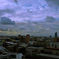 Сумерки над Москвой... :: ВЛАДИМИР К.