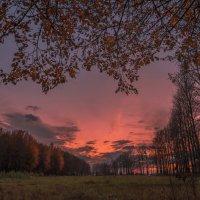Осенний закат :: Вячеслав Побединский