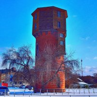 Водонапорная башня! ... (привокзалье) :: Елена Хайдукова  ( Elena Fly )