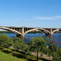 Мост через Енисей :: Василий