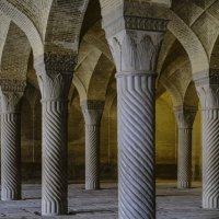 колонный зал мечети Вакил, г. Шираз :: Георгий А