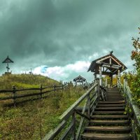 Осень -Волга. Плес. :: юрий макаров