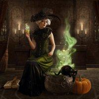 Magic potion :: Елена Оберник