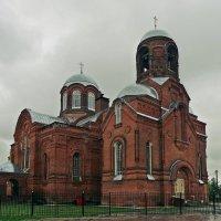 Село Горки.  Никольский храм :: Евгений Кочуров