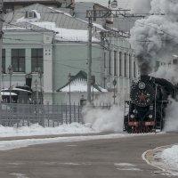 Москва, Рижский вокзал. Паровоз Л 3953 :: Игорь Олегович Кравченко