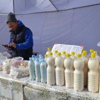 Трудное молочное дело... :: Хлопонин Андрей Хлопонин Андрей