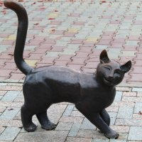 кошка из сказки бажова :: ольга хакимова