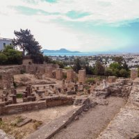 Тунис. Развалины Карфагена и вид на г. Кортаж. :: Лариса (Phinikia) Двойникова