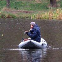 Рыбалка поздней осенью :: Андрей Снегерёв