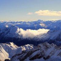 На высоте АЛЬПИЙСКИХ ГОР, нашел я счастье и покой... :: Эдвард Фогель